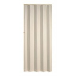Koženkové shrnovací dveře KP 83 x 200 cm - béžová