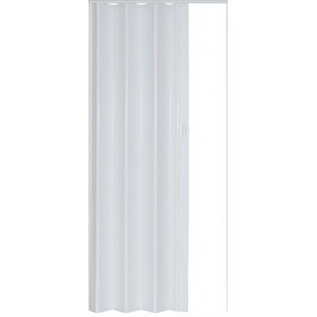Plastové shrnovací dveře PIONEER 84 x 203 cm - bříza 281