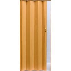 Plastové shrnovací dveře PIONEER 84 x 203 cm - buk 043