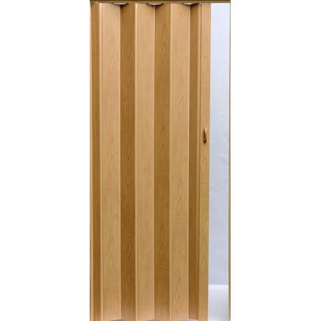 Plastové shrnovací dveře PIONEER 84 x 203 cm - dub 283