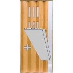 Prosklenná přídavná lamela Pioneer Glass - buk - 043