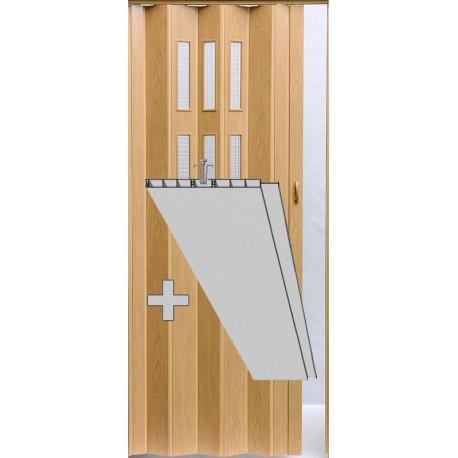 Prosklenná přídavná lamela Pioneer Glass - dub 283