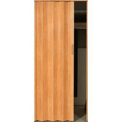 Plastové shrnovací dveře ACCORDION 82 x 203 cm - světlý dub