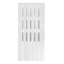 Plastové prosklenné shrnovací dveře HOPA Dora 3 74 x 200 cm