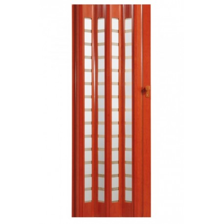 Plastové shrnovací dveře HOPA Platinum 86 x 203 cm - růže