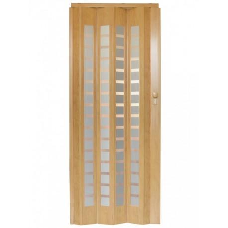 Plastové shrnovací dveře HOPA Platinum 86 x 203 cm - javor