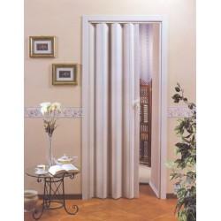 Shrnovací dveře na míru bez prosklení - Luciana Color - bílá do výšky 200 cm