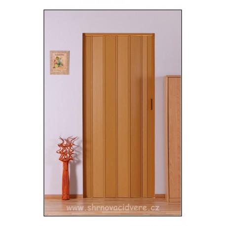 Shrnovací dveře LUCIANA Design DL 73 x 200 cm - dub