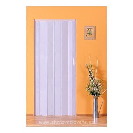 Shrnovací dveře LUCIANA Design DL 73 x 200 cm - bříza